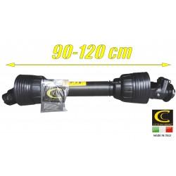 Wałek Przekaźnika Mocy 830Nm 95cm + sprzęgło kołkowe 2500Nm