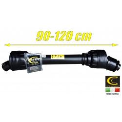 Wałek przekaźnika mocy WOM 620 Nm+sprzęgło jednokierunkowe - PRAWE 90cm
